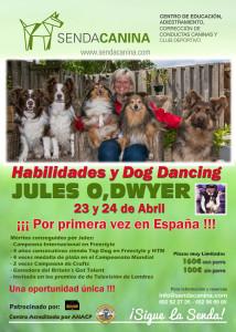 Curso Habilidades y Dog Dancing - Jules